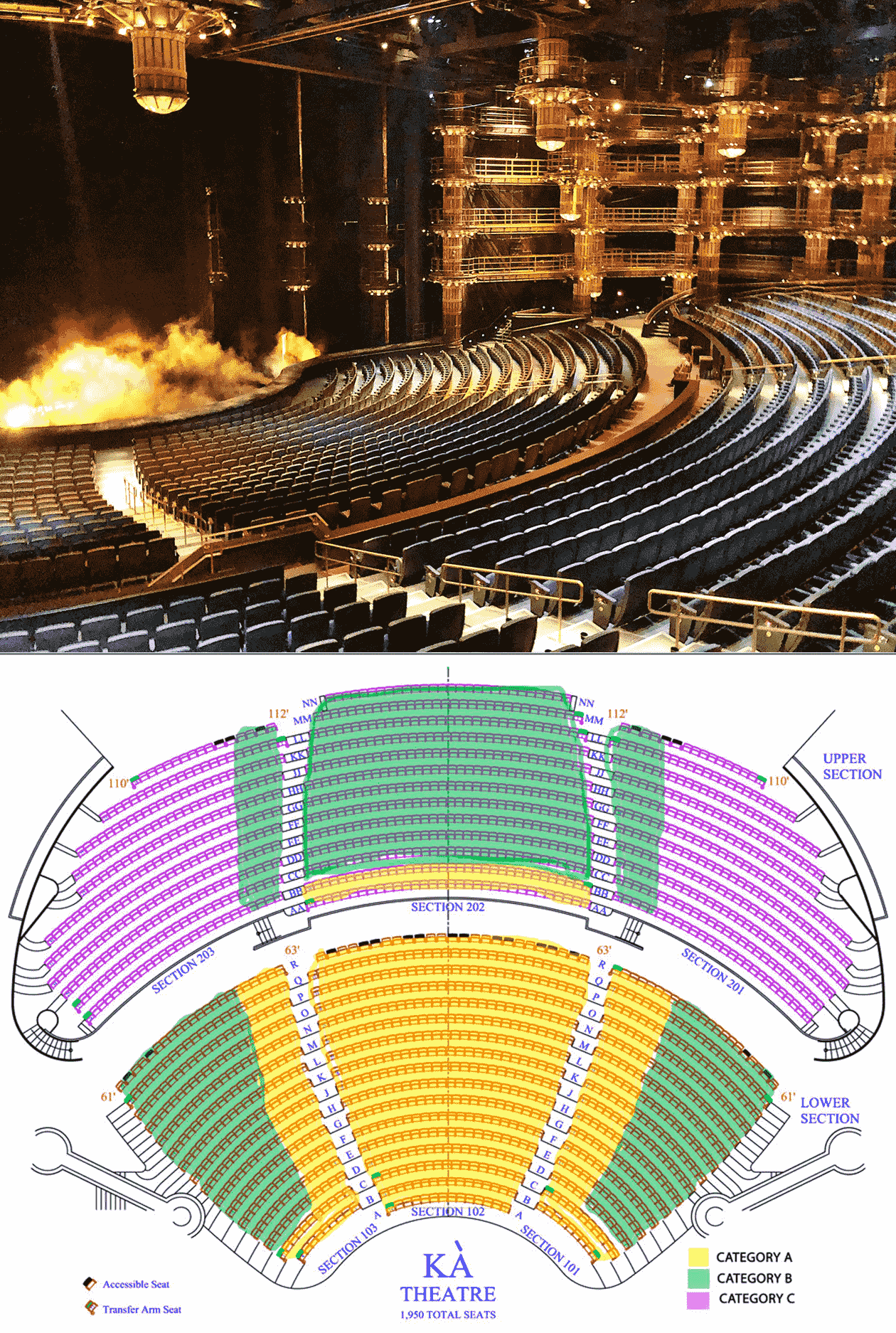 KA Tickets Seating Chart